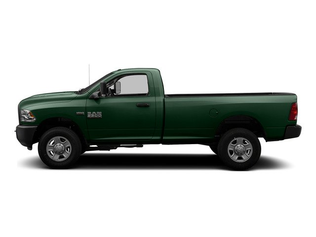 Timberline Green Pearlcoat 2015 Ram Truck 3500 Pictures 3500 Regular Cab Tradesman 2WD photos side view