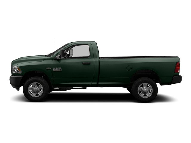 Black Forest Green Pearlcoat 2015 Ram Truck 3500 Pictures 3500 Regular Cab Tradesman 2WD photos side view