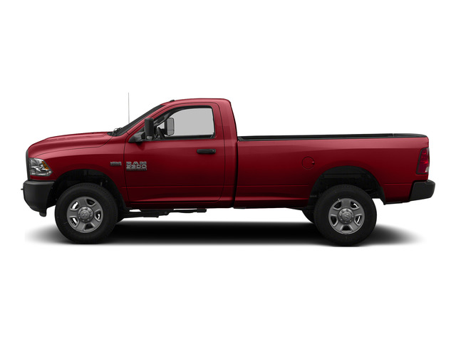 Flame Red Clearcoat 2015 Ram Truck 3500 Pictures 3500 Regular Cab Tradesman 2WD photos side view