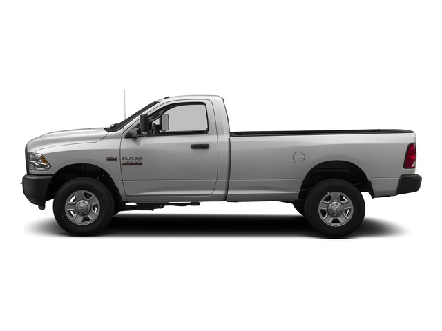 Bright Silver Metallic Clearcoat 2015 Ram Truck 3500 Pictures 3500 Regular Cab Tradesman 2WD photos side view