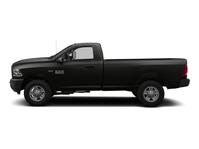 Brilliant Black Crystal Pearlcoat 2015 Ram Truck 3500 Pictures 3500 Regular Cab Tradesman 2WD photos side view
