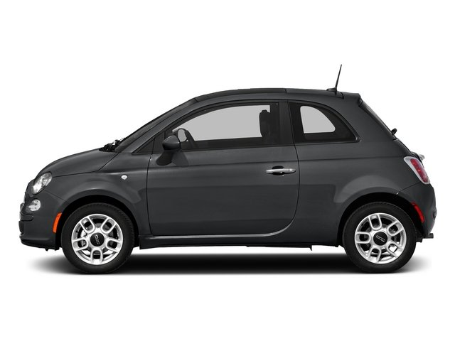 Granito Lucente (Granite Crystal) 2015 FIAT 500 Pictures 500 Hatchback 3D Sport I4 photos side view
