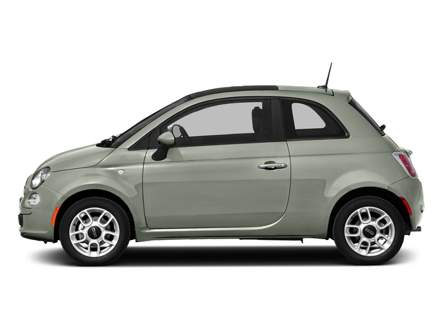 Verde Chiaro (Light Green) 2015 FIAT 500 Pictures 500 Hatchback 3D Sport I4 photos side view