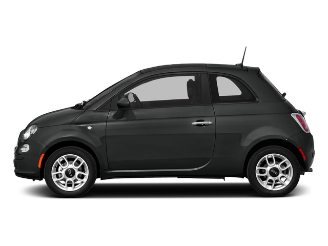 Nero Puro (Straight Black) 2015 FIAT 500 Pictures 500 Hatchback 3D Sport I4 photos side view
