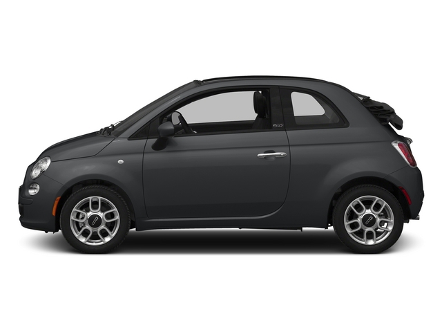 Granito Lucente (Granite Crystal) 2015 FIAT 500c Pictures 500c Convertible 2D Lounge I4 photos side view