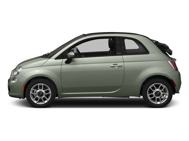 Verde Chiaro (Light Green) 2015 FIAT 500c Pictures 500c Convertible 2D Lounge I4 photos side view