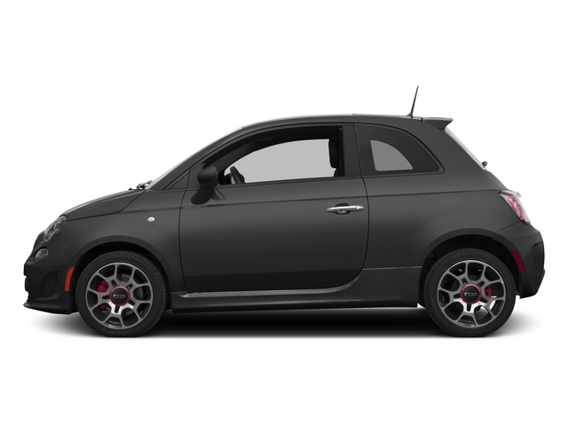 Granito Lucente (Granite Crystal) 2015 FIAT 500 Pictures 500 Hatchback 3D I4 Turbo photos side view