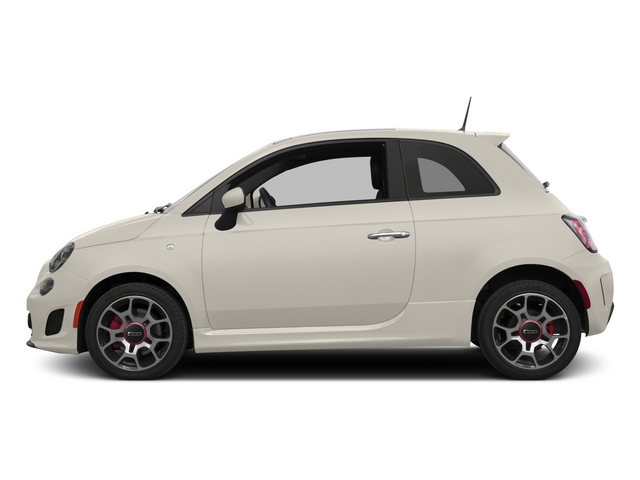 Bianco (White) 2015 FIAT 500 Pictures 500 Hatchback 3D I4 Turbo photos side view