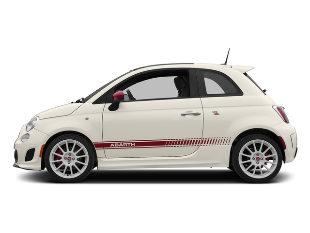 Bianco (White) 2015 FIAT 500 Pictures 500 Hatchback 3D Abarth I4 photos side view