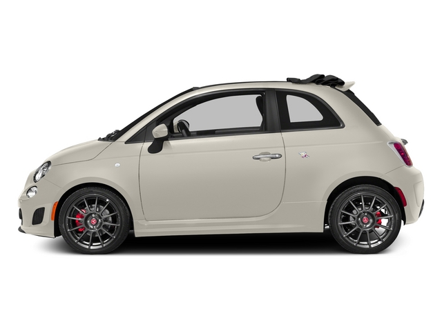 Bianco (White) 2015 FIAT 500c Pictures 500c Convertible 2D Abarth I4 photos side view