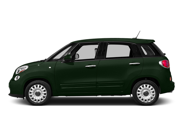 Verde Bosco Perla (Forest Green) 2015 FIAT 500L Pictures 500L Hatchback 5D L Easy I4 Turbo photos side view