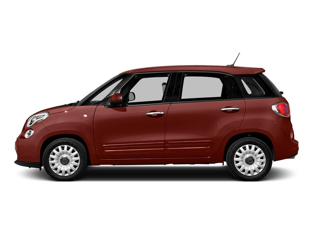 Rosso Perla (Deep Lava Red Pearl) 2015 FIAT 500L Pictures 500L Hatchback 5D L Easy I4 Turbo photos side view