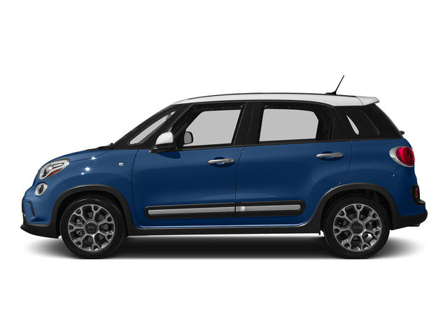 Blue Tornado 2015 FIAT 500L Pictures 500L Hatchback 5D L Trekking I4 Turbo photos side view