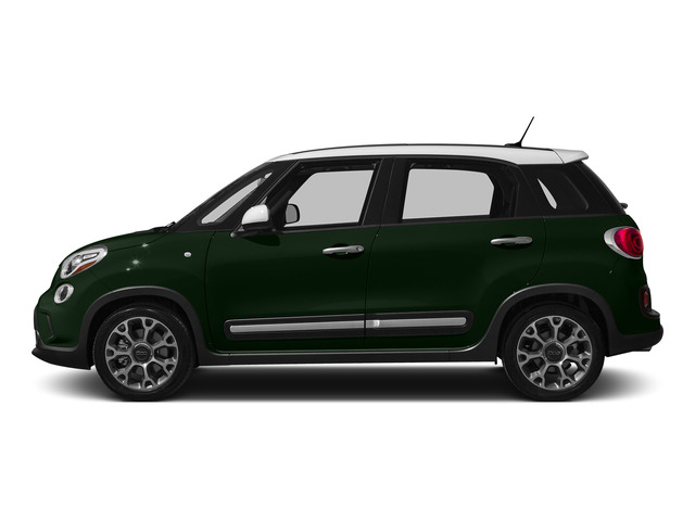 Verde Bosco Perla (Forest Green) 2015 FIAT 500L Pictures 500L Hatchback 5D L Trekking I4 Turbo photos side view