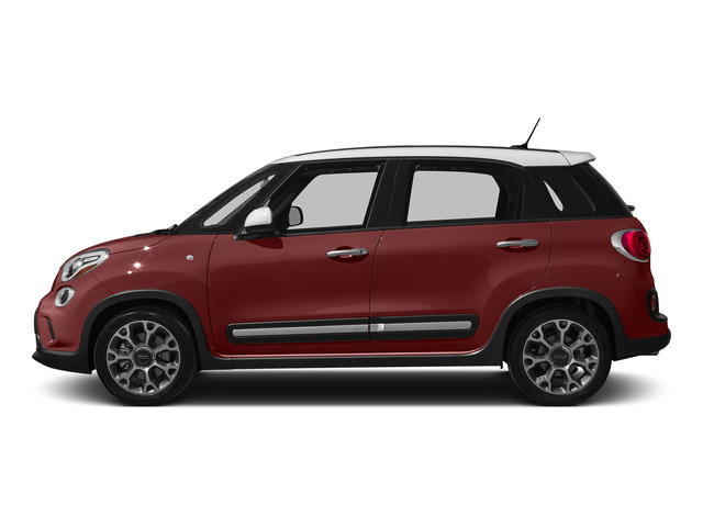Rosso Perla (Deep Lava Red Pearl) 2015 FIAT 500L Pictures 500L Hatchback 5D L Trekking I4 Turbo photos side view