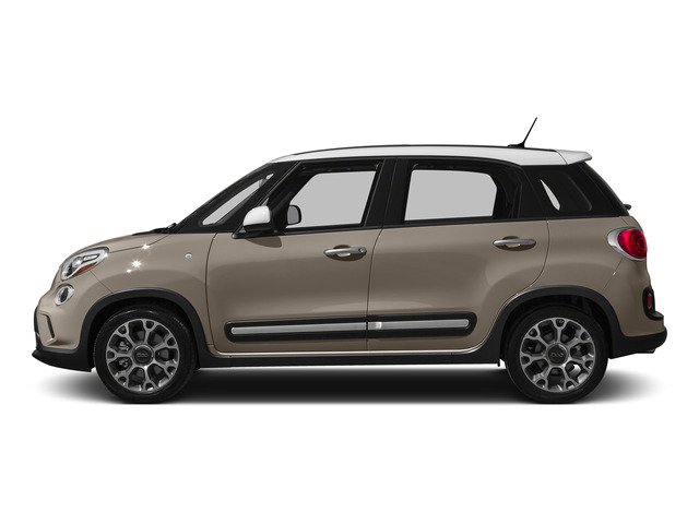 Mocha Latte 2015 FIAT 500L Pictures 500L Hatchback 5D L Trekking I4 Turbo photos side view
