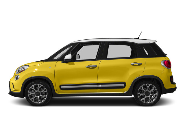 Giallo (Yellow) 2015 FIAT 500L Pictures 500L Hatchback 5D L Trekking I4 Turbo photos side view