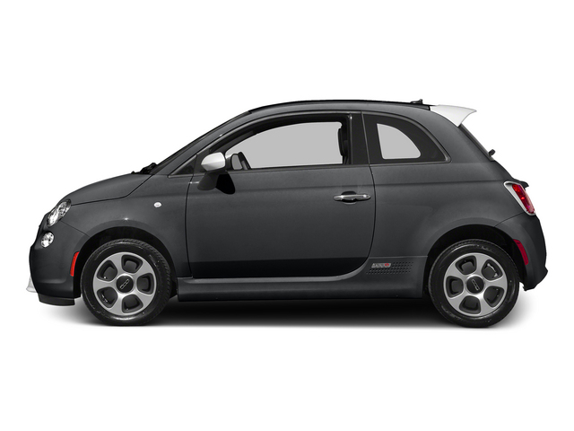 Granito Lucente (Granite Crystal) 2015 FIAT 500e Pictures 500e Hatchback 3D 500e Electric photos side view
