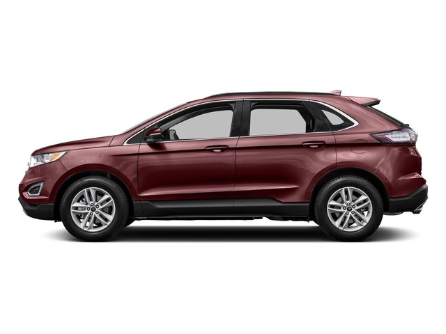 Bronze Fire Metallic Tinted Clearcoat 2015 Ford Edge Pictures Edge Utility 4D Titanium 2WD V6 photos side view