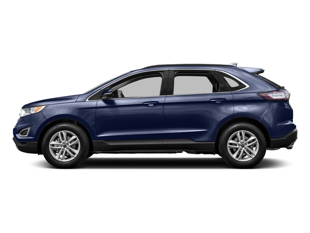 Deep Impact Blue Metallic 2015 Ford Edge Pictures Edge Utility 4D Titanium 2WD V6 photos side view