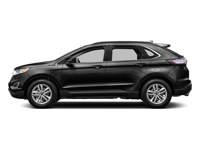 Tuxedo Black Metallic 2015 Ford Edge Pictures Edge Utility 4D SE AWD I4 Turbo photos side view