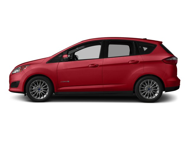 Ruby Red Metallic Tinted Clearcoat 2015 Ford C-Max Hybrid Pictures C-Max Hybrid Hatchback 5D SEL I4 Hybrid photos side view
