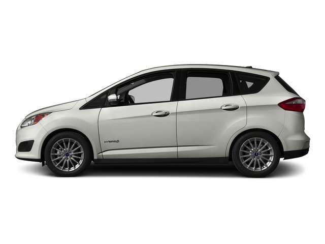 Oxford White 2015 Ford C-Max Hybrid Pictures C-Max Hybrid Hatchback 5D SEL I4 Hybrid photos side view