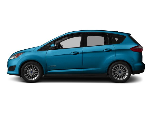 Blue Candy Metallic Tinted Clearcoat 2015 Ford C-Max Hybrid Pictures C-Max Hybrid Hatchback 5D SEL I4 Hybrid photos side view