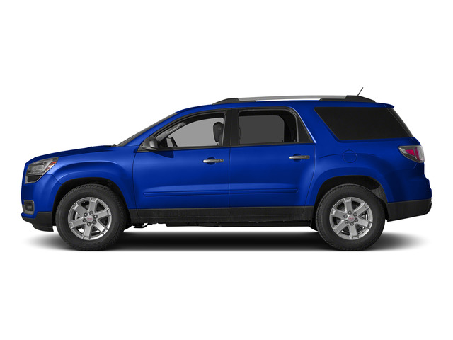 Dark Sapphire Blue Metallic 2015 GMC Acadia Pictures Acadia Utility 4D SLT AWD photos side view