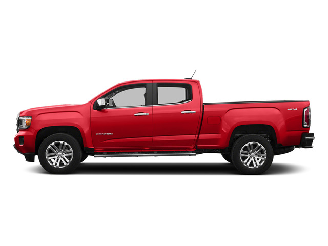 Cardinal Red 2015 GMC Canyon Pictures Canyon Crew Cab SLE 2WD photos side view