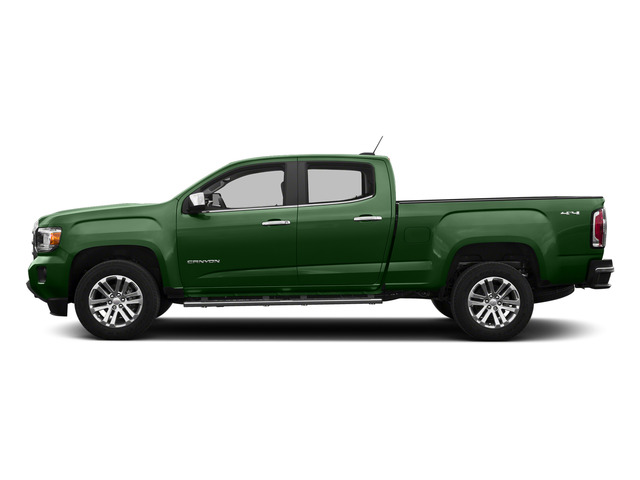 Emerald Green Metallic 2015 GMC Canyon Pictures Canyon Crew Cab SLT 2WD photos side view