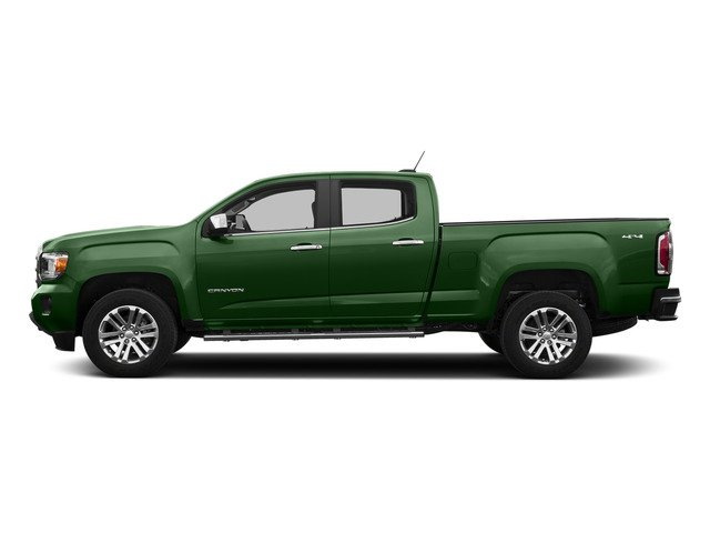 Emerald Green Metallic 2015 GMC Canyon Pictures Canyon Crew Cab SLE 2WD photos side view