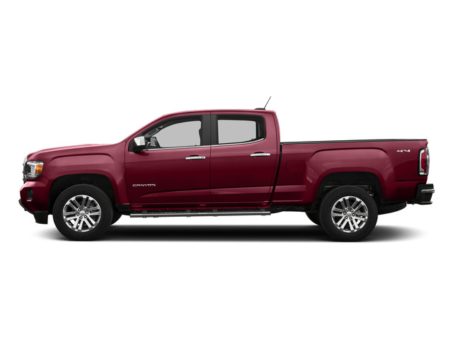 Copper Red Metallic 2015 GMC Canyon Pictures Canyon Crew Cab SLT 2WD photos side view