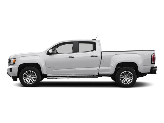 Summit White 2015 GMC Canyon Pictures Canyon Crew Cab SLE 2WD photos side view