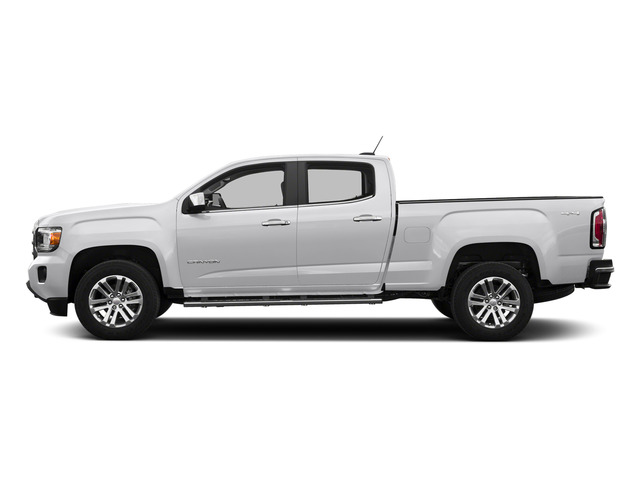 Summit White 2015 GMC Canyon Pictures Canyon Crew Cab SLT 2WD photos side view