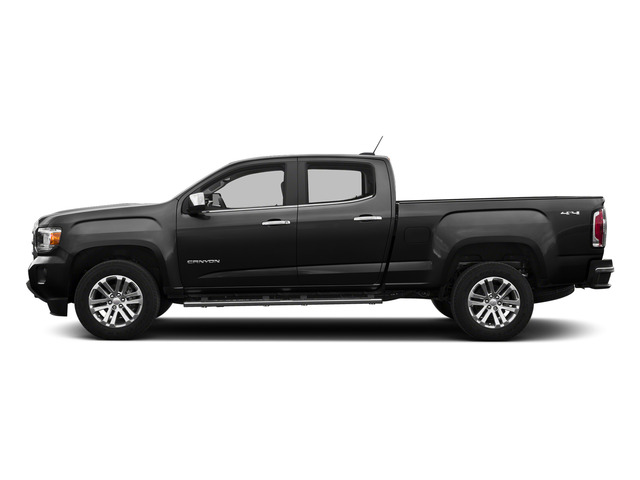 Onyx Black 2015 GMC Canyon Pictures Canyon Crew Cab SLE 2WD photos side view