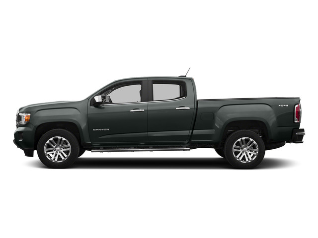Cyber Gray Metallic 2015 GMC Canyon Pictures Canyon Crew Cab SLE 2WD photos side view