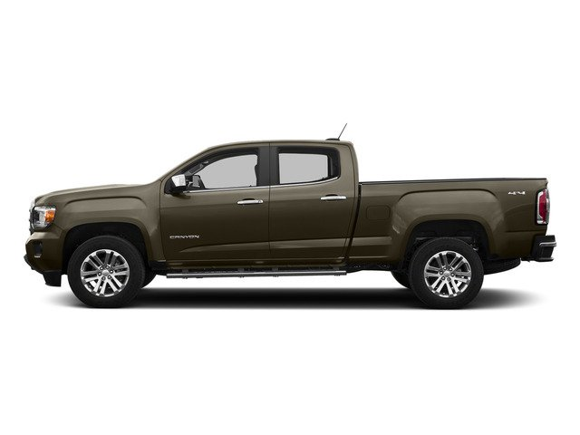 Bronze Alloy Metallic 2015 GMC Canyon Pictures Canyon Crew Cab SLT 2WD photos side view