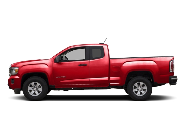 Cardinal Red 2015 GMC Canyon Pictures Canyon Extended Cab SLE 2WD photos side view
