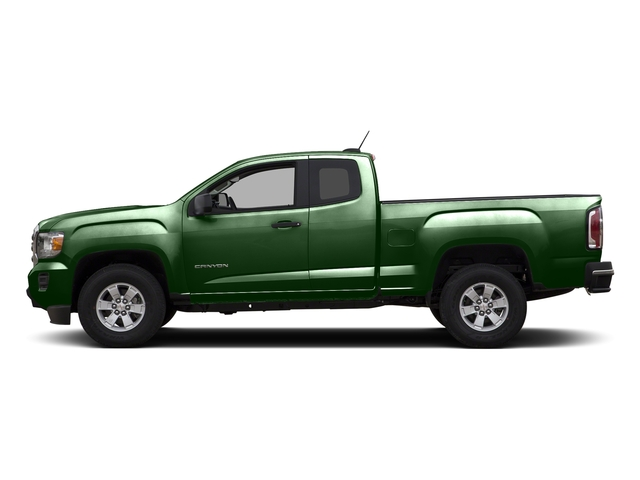 Emerald Green Metallic 2015 GMC Canyon Pictures Canyon Extended Cab SLE 2WD photos side view