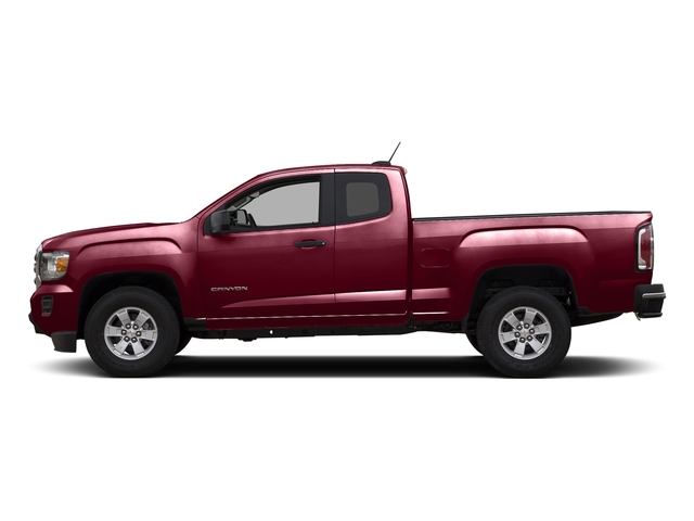 Copper Red Metallic 2015 GMC Canyon Pictures Canyon Extended Cab SLE 2WD photos side view