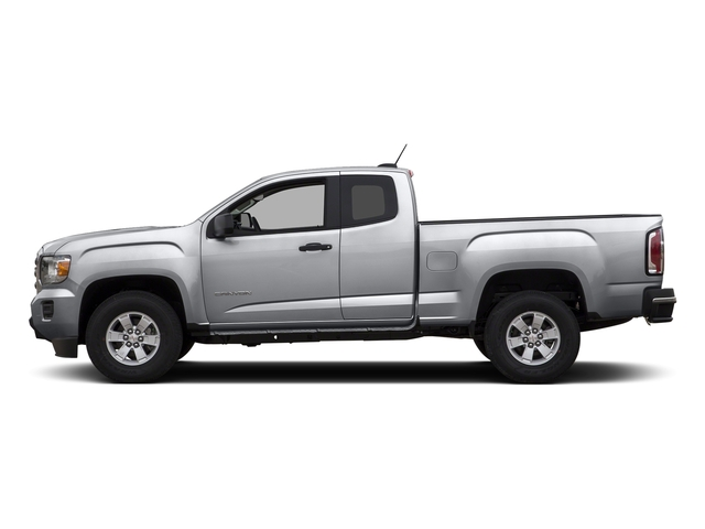 Quicksilver Metallic 2015 GMC Canyon Pictures Canyon Extended Cab SLE 2WD photos side view