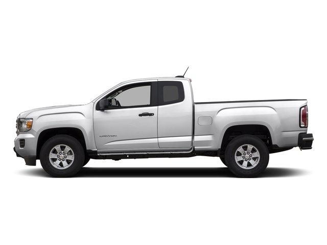 Summit White 2015 GMC Canyon Pictures Canyon Extended Cab SLE 2WD photos side view