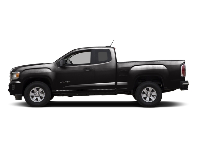 Onyx Black 2015 GMC Canyon Pictures Canyon Extended Cab SLE 2WD photos side view