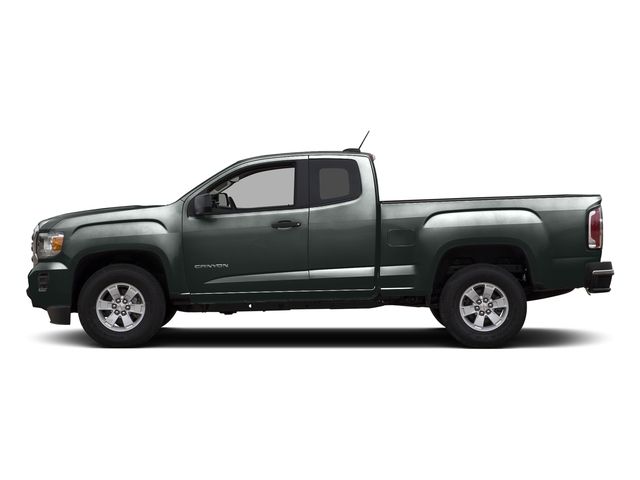 Cyber Gray Metallic 2015 GMC Canyon Pictures Canyon Extended Cab SLE 2WD photos side view