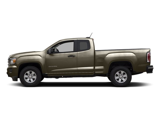 Bronze Alloy Metallic 2015 GMC Canyon Pictures Canyon Extended Cab SLE 2WD photos side view