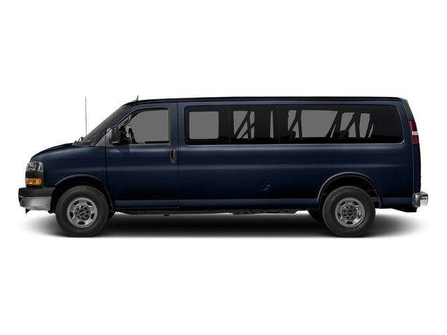 Deep Blue Metallic 2015 GMC Savana Passenger Pictures Savana Passenger Savana LT 135 photos side view