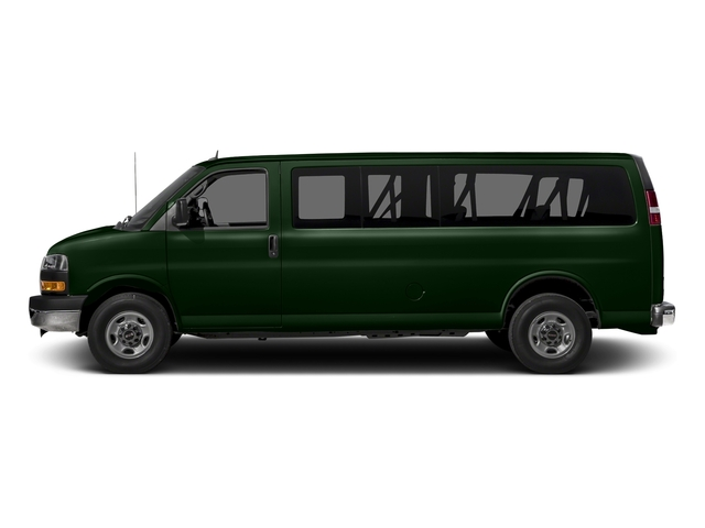 Emerald Green Metallic 2015 GMC Savana Passenger Pictures Savana Passenger Savana LT 135 photos side view