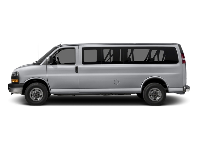 Quicksilver Metallic 2015 GMC Savana Passenger Pictures Savana Passenger Savana LT 135 photos side view