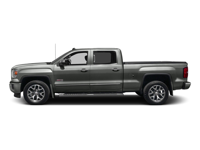 Light Steel Gray Metallic 2015 GMC Sierra 1500 Pictures Sierra 1500 Crew Cab SLE 2WD photos side view